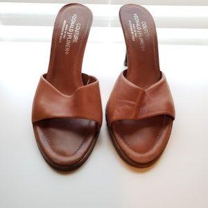 Donald J. Pliner Couture Slide Heels 9.5